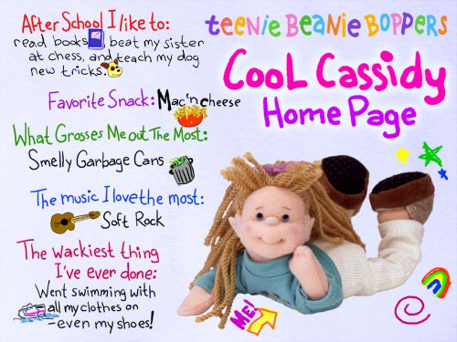 Cool Cassidy - Ty Teenie Boppers